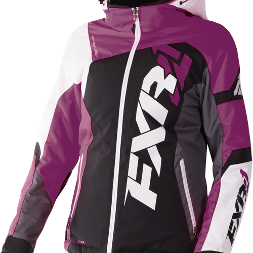 Ski doo senteret Vare Pulse Jacket Wineberry HeatherWhite
